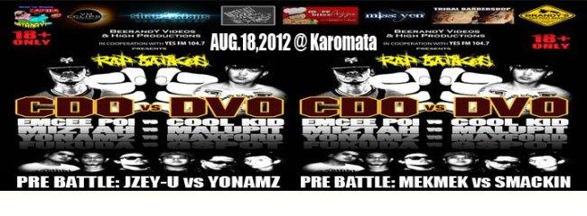 Rap Battle in Cagayan de Oro