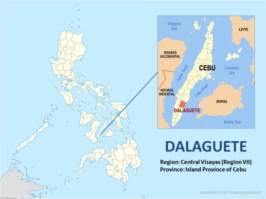 Dalaguete Map