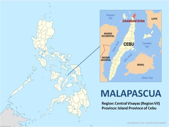 Malapascua Map